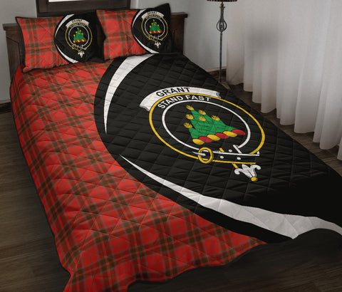 Grant Weathered Tartan Quilt Bed Set Circle