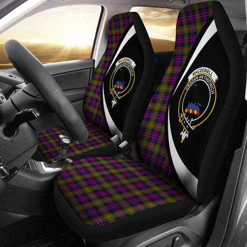 MacDonnell of Glengarry Modern Tartan Clan Crest Car Seat Cover