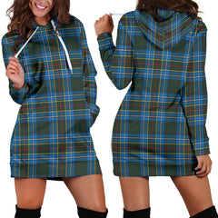 Cockburn Modern Tartan Hoodie Dress HJ4