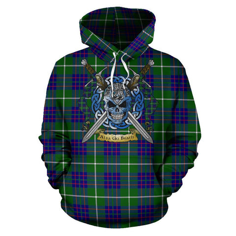 MacIntyre Hunting Modern Tartan Hoodie Celtic Scottish Warrior A79 | Over 500 Tartans | Clothing | Apaprel