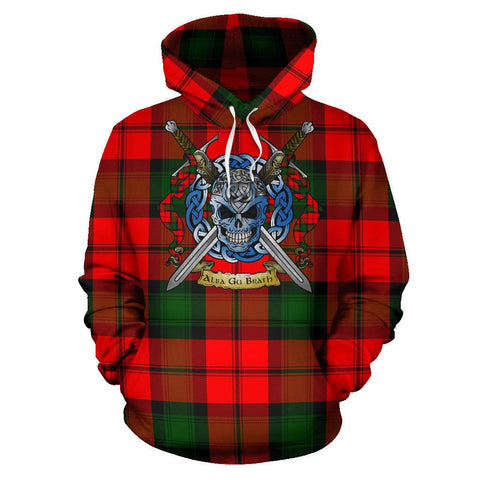 Kerr Modern Tartan Hoodie Celtic Scottish Warrior A79 | Over 500 Tartans | Clothing | Apaprel