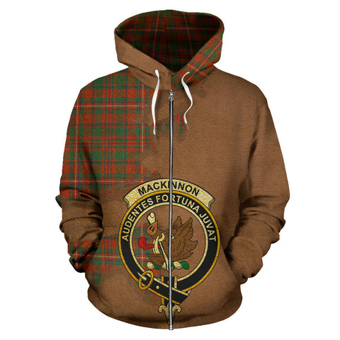 MacKinnon Ancient  Royal All Over Hoodie (Zip)