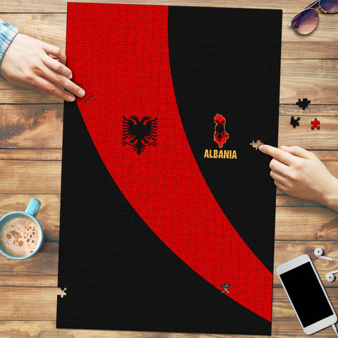 Albania Jigaw Puzzle Special Flag A21