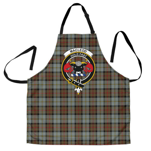MacLeod of Harris Weathered Tartan Clan Crest Apron HJ4