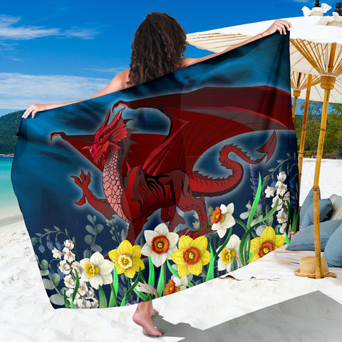 Image of Welsh Sarong - Dragon Daffodil | Home Set | Love The World