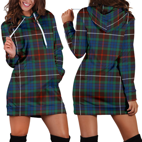 Fraser Hunting Ancient Tartan Hoodie Dress HJ4 |Women's Clothing| 1sttheworld