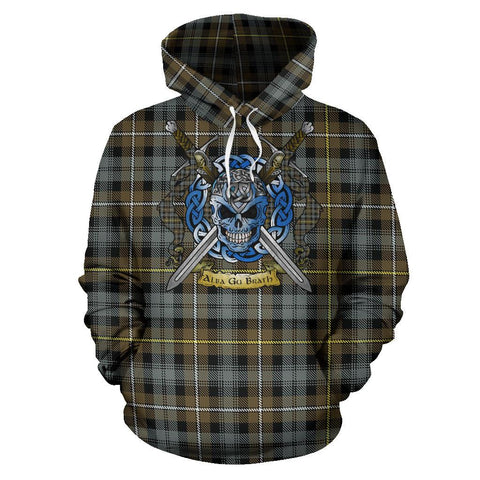 Campbell Argyll Weathered Tartan Hoodie Celtic Scottish Warrior A79 | Over 500 Tartans | Clothing | Apaprel