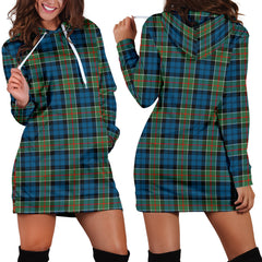 Colquhoun Ancient Tartan Hoodie Dress HJ4