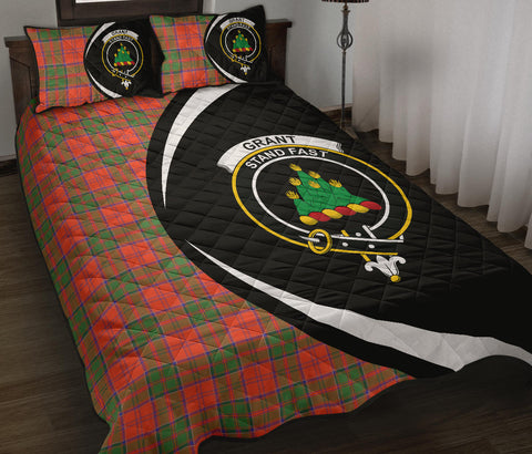 Grant Ancient Tartan Quilt Bed Set Circle