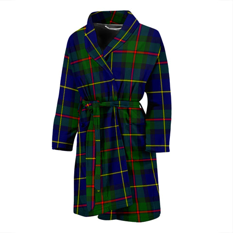 MacLeod Of Harris Modern Tartan Men's Bath Robe