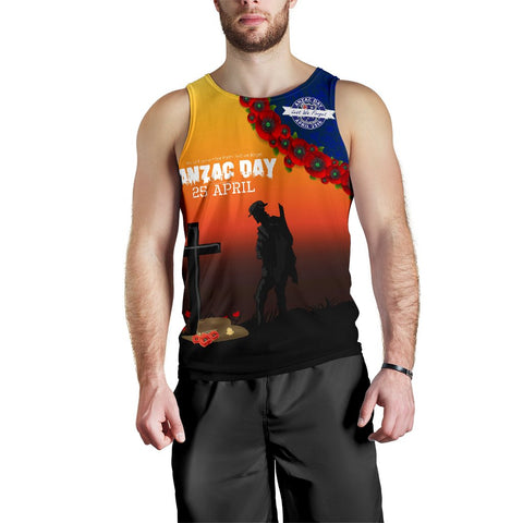 Australia Anzac Day Men's Tank Top - Lest We Forget A31