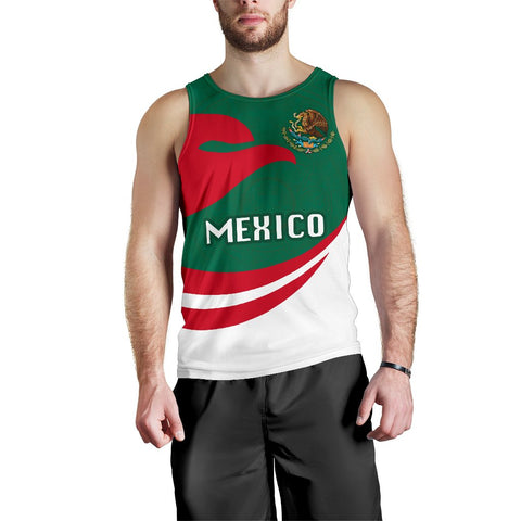 Mexico Men Tank Top Proud Version | 1sttheworld
