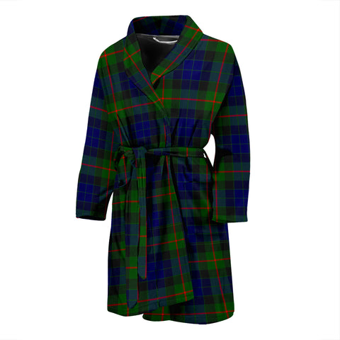 Gunn Modern Tartan Men's Bath Robe