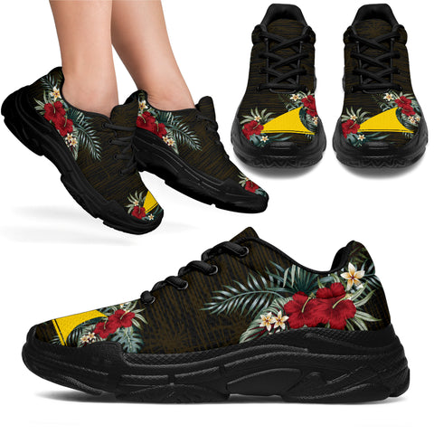Image of Tokelau Hibiscus (Men/Women) Chunky Sneakers A7