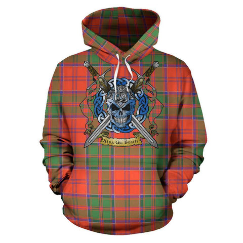 Grant Ancient Tartan Hoodie Celtic Scottish Warrior A79 | Over 500 Tartans | Clothing | Apaprel