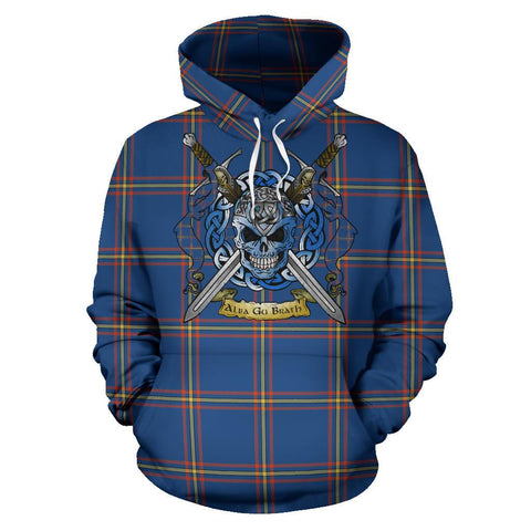 MacLaine of Loch Buie Hunting Ancient Tartan Hoodie Celtic Scottish Warrior A79 | Over 500 Tartans | Clothing | Apaprel