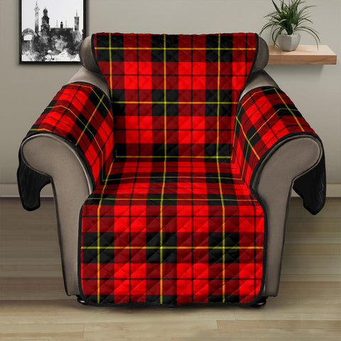 Wallace Hunting - Red Tartan Recliner Sofa Protector A9 copy