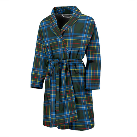 Cockburn Modern Tartan Men's Bath Robe