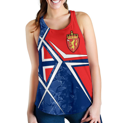 Norway Women's Racerback Tank - Norway Legend