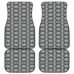Maori Car Floor Mat 4 Pieces 29b K3