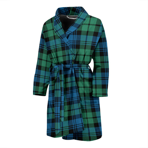 Campbell Ancient Tartan Men's Bath Robe 01