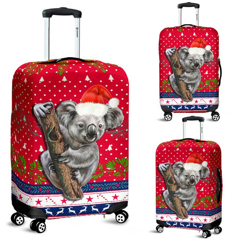 Australia Christmas Aboriginal Luggage Covers Koala Version | 1sttheworld