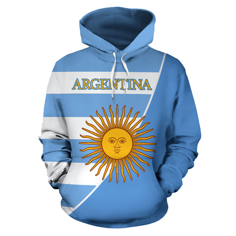 Image of Argentina Hoodie Flag Color