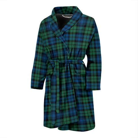 Campbell Ancient Tartan Men's Bath Robe 02