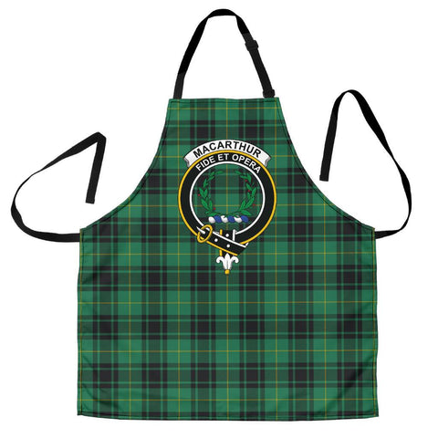 Image of MacArthur Ancient Tartan Clan Crest Apron