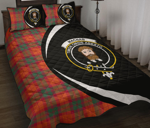 MacNab Ancient Tartan Quilt Bed Set Circle