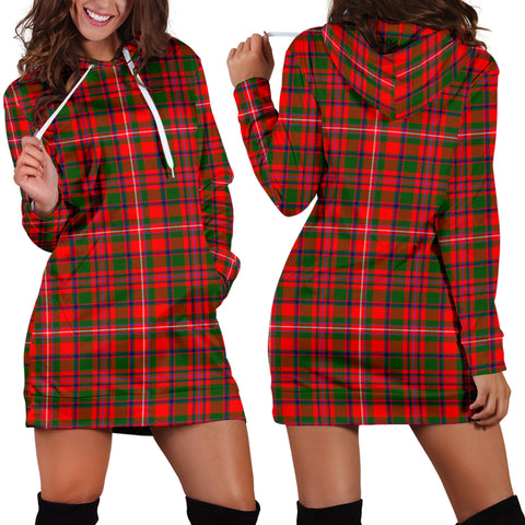 Mackinnon Modern Tartan Hoodie Dress HJ4 |Women's Clothing| 1sttheworld