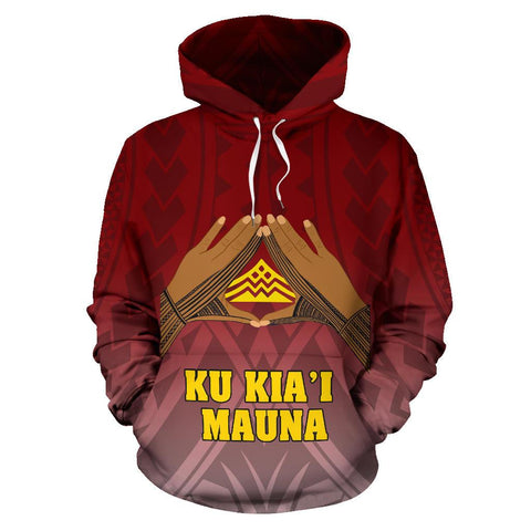 Hawaii Mauna Kea All Over Custom Personalised Hoodie