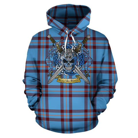 Elliot Ancient Tartan Hoodie Celtic Scottish Warrior A79 | Over 500 Tartans | Clothing | Apaprel