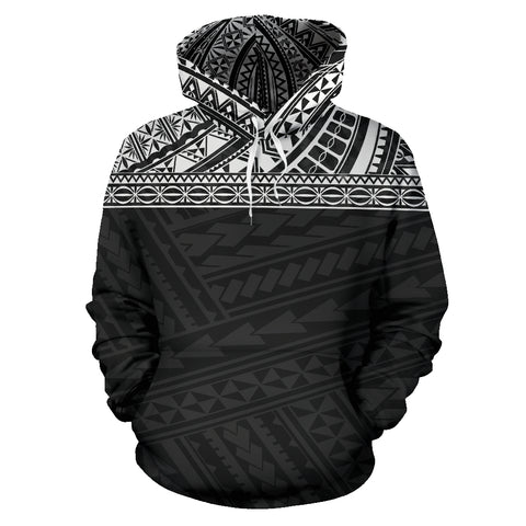 Image of Hawaii Hoodie Front Black