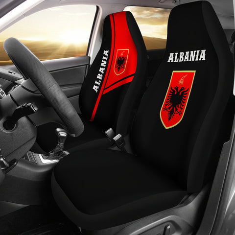 Albania Car Seat Covers Streetwear Style
