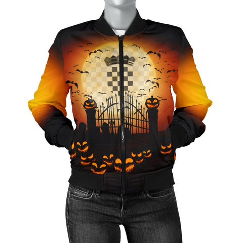 Crotia Halloween 2020 Women's Bomber Jacket A15