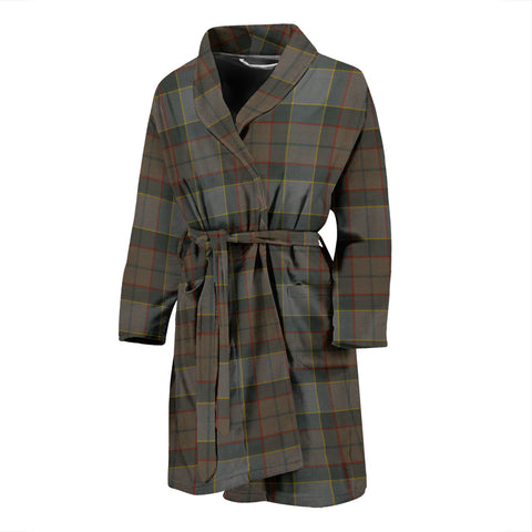 Outlander Fraser Tartan Men's Bath Robe