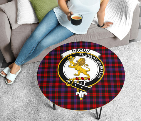 Brown Clans Cofee Table BN