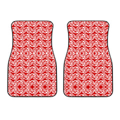 Maori Car Floor Mat 2 Pieces 27a K3