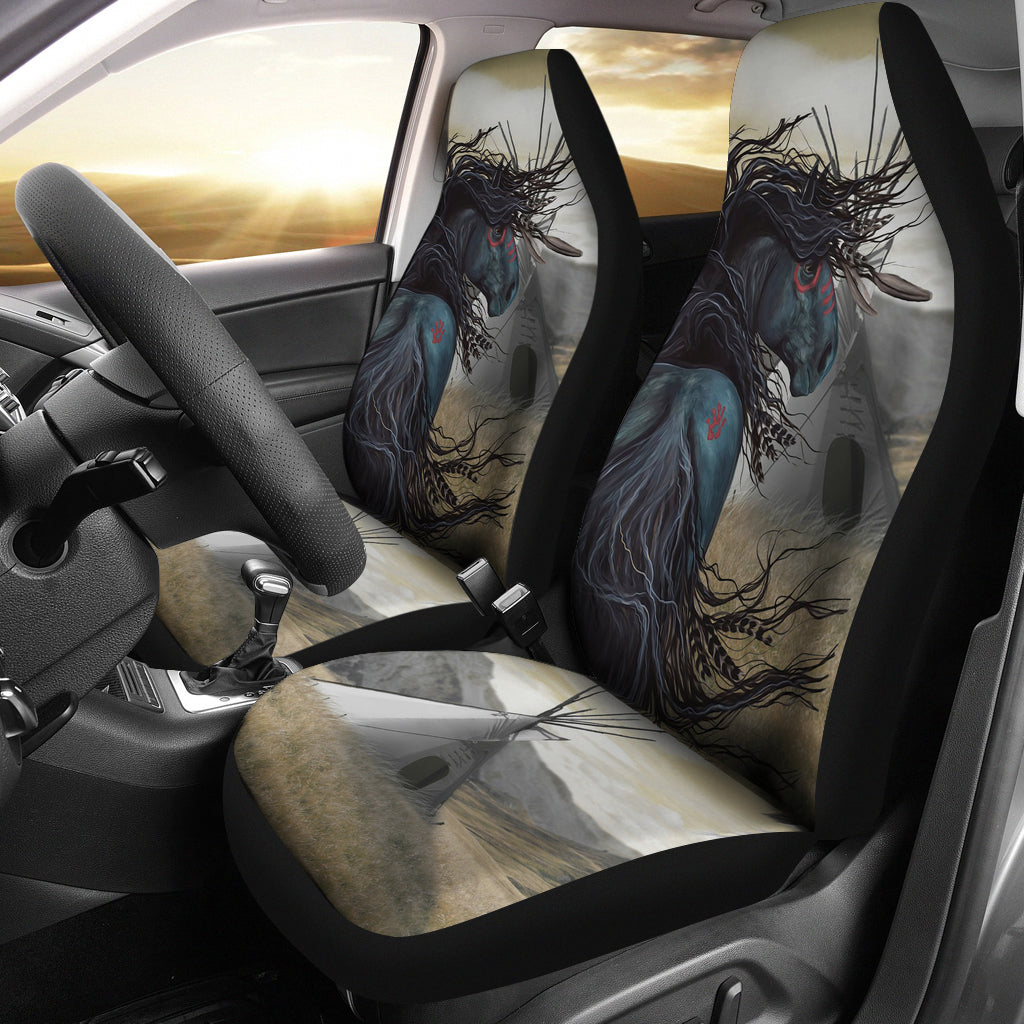 Horse Car Seat Covers Native American 1sttheworld