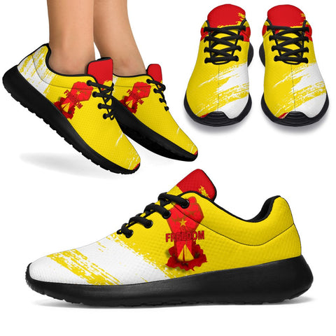 Freedom Tigray Flag And Map Sport Sneakers A27