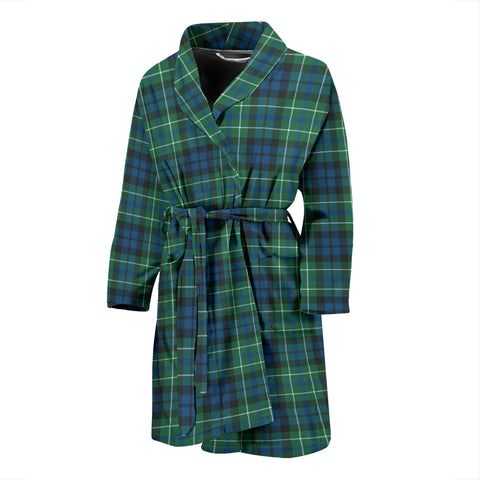 Image of MacNeill of Colonsay Ancient Tartan Men's Bath Robe