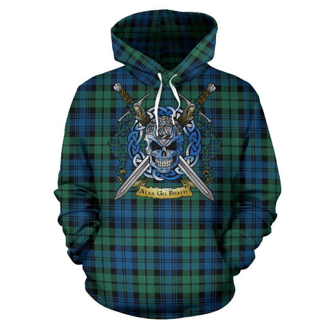 Campbell Ancient 02 Tartan Hoodie Celtic Scottish Warrior A79 | Over 500 Tartans | Clothing | Apaprel