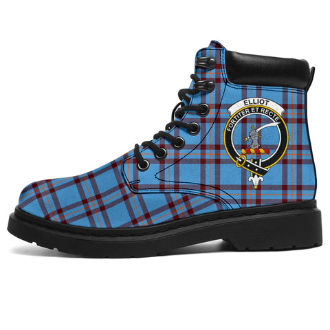 Image of Elliot Ancient Tartan Clan Crest All-Season Boots HJ4