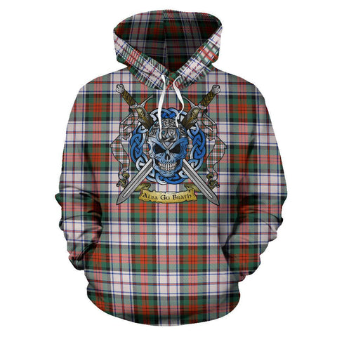 Image of MacDuff Dress Ancient Tartan Hoodie Celtic Scottish Warrior A79 | Over 500 Tartans | Clothing | Apaprel