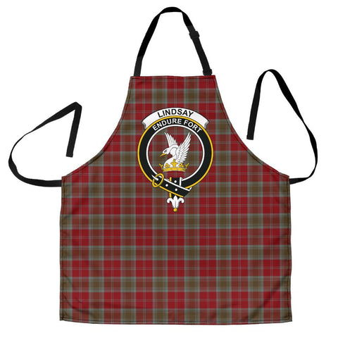 Image of Lindsay Weathered Tartan Clan Crest Apron