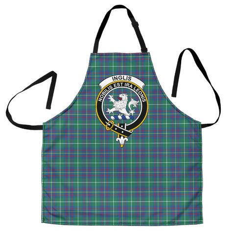 Image of Inglis Ancient Tartan Clan Crest Apron
