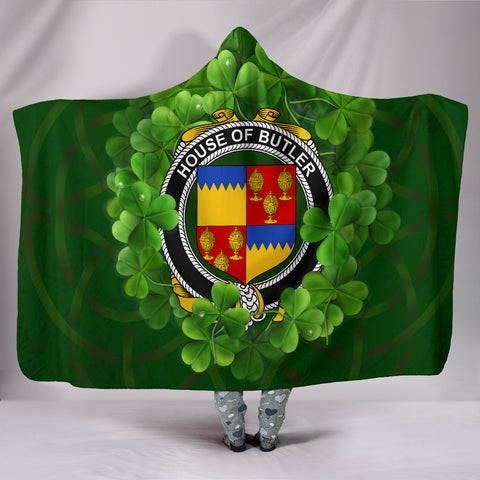 BUTLER Ireland Hooded Blanket A9