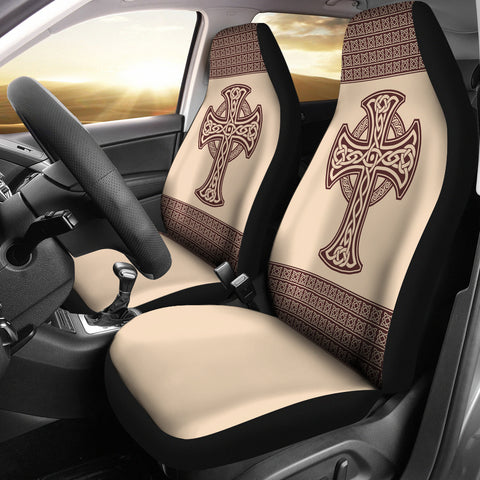 car decoration, car accessories, online shopping, 1sttheworld, accessory, car seat covers, celtic, celtic cross, celtic car seat covers
