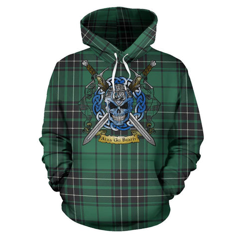 MacLean Hunting Ancient Tartan Hoodie Celtic Scottish Warrior A79 | Over 500 Tartans | Clothing | Apaprel